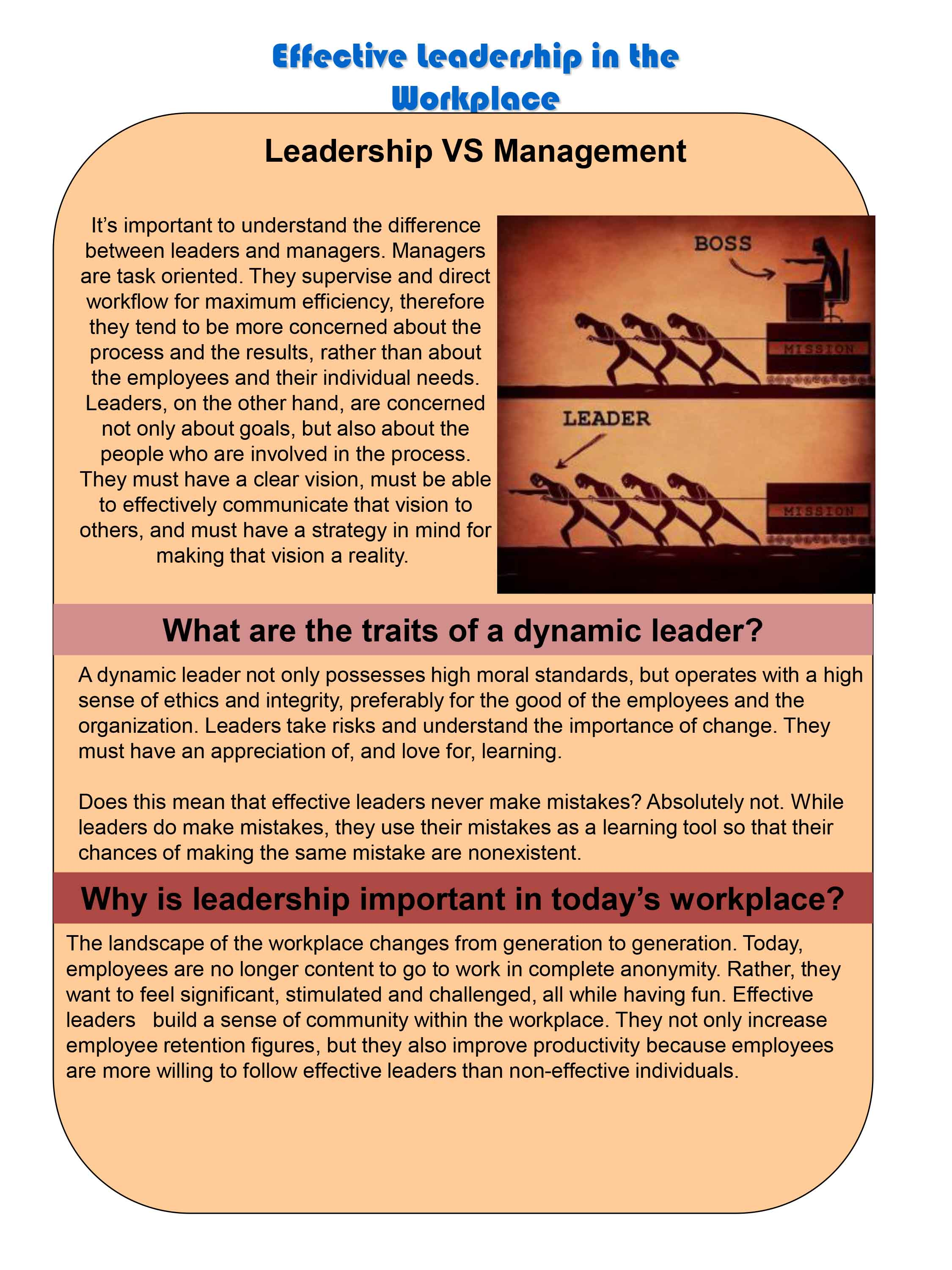 hse bulletin hablem effective leadership in the workplace